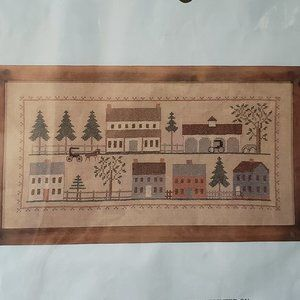 MEETINGHOUSE ROAD Country Stitching Cross Stitch